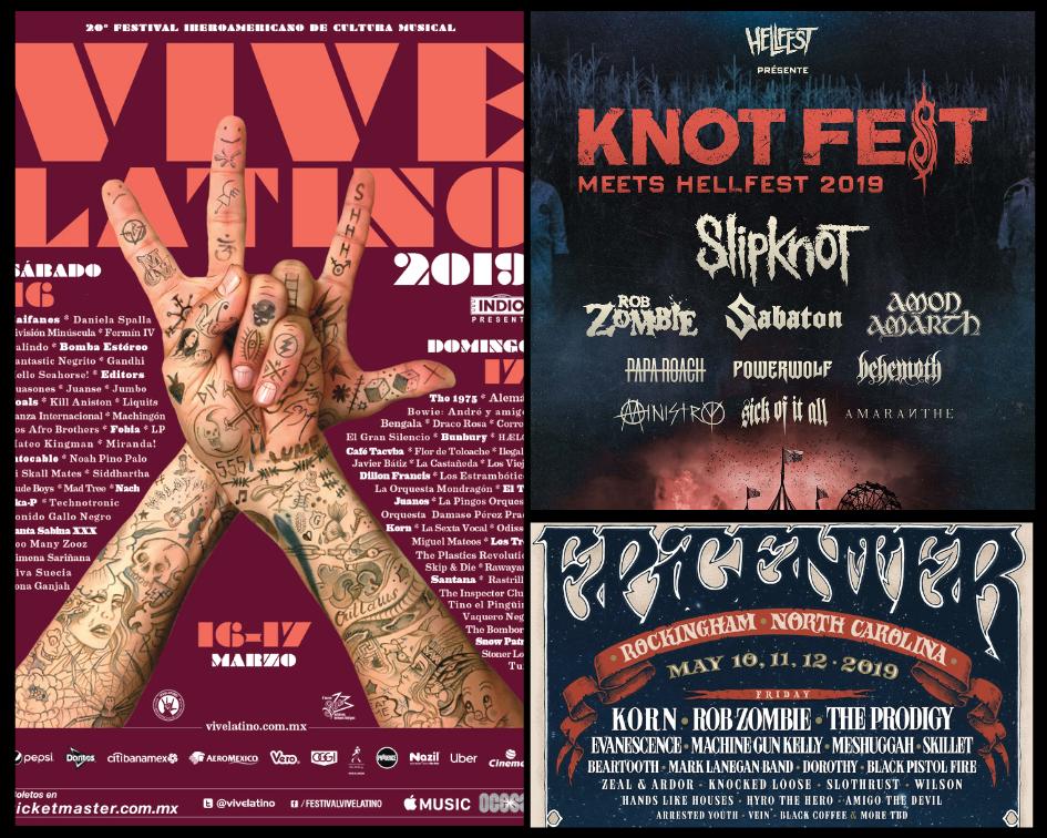 EXCITING NEWS IN ROCK – ROCK MUSIC FESTIVALS 2019 – Reveler